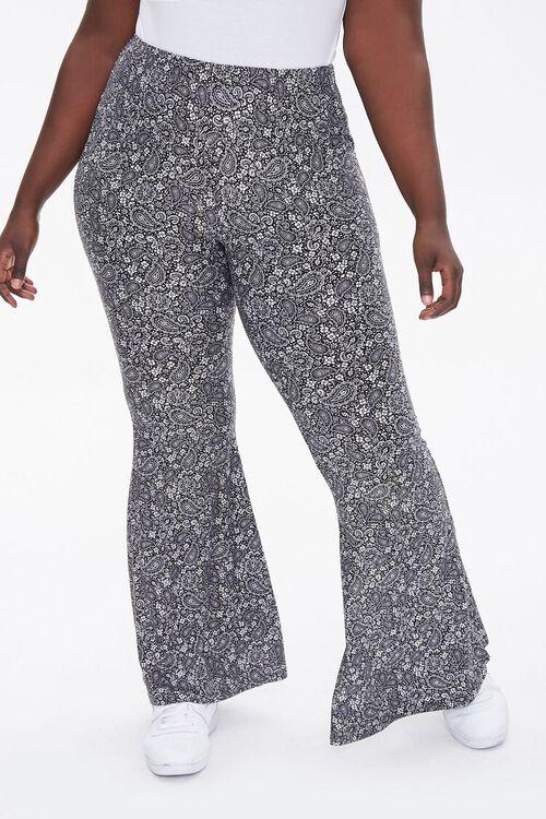 Plus Size Paisley Jordyn Pants, image 2