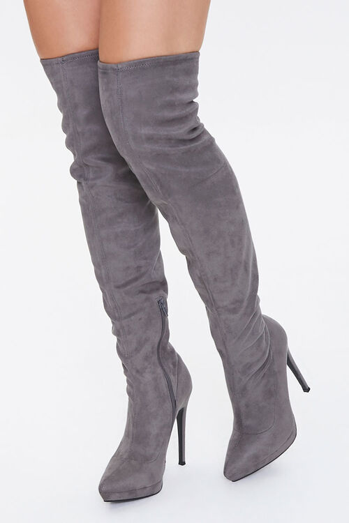 Over-the-Knee Stiletto Boots, image 1