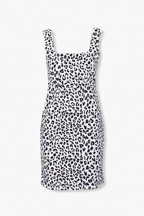 Leopard Print Mini Dress, image 1