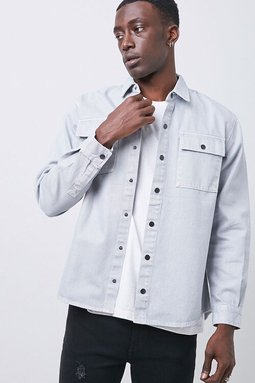 Buttoned Flap Pocket Shirt, image 5