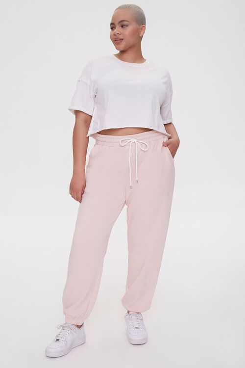 Plus Size French Terry Joggers, image 5