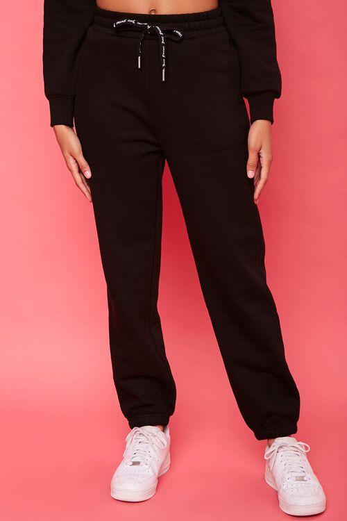 Juicy Couture Rhinestone Fleece Joggers, image 2