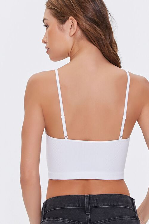 Seamless Ribbed Bralette, image 3