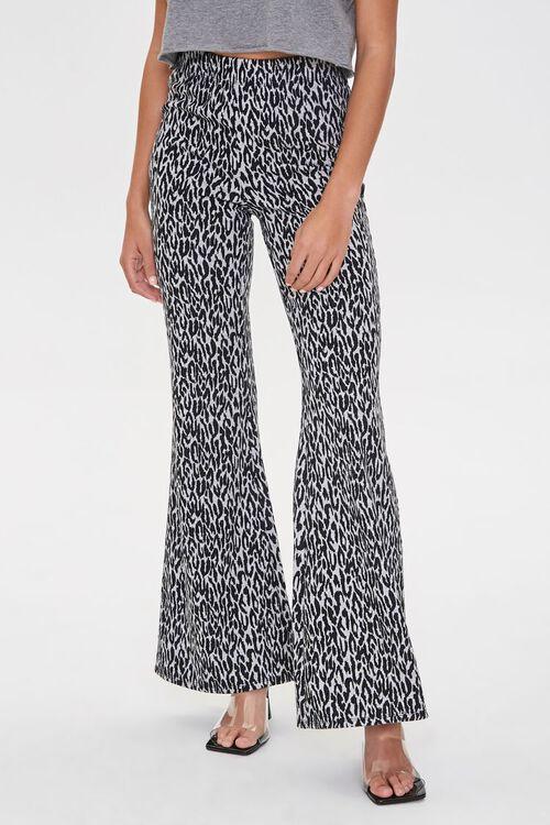 Leopard Print Flare Pants, image 2