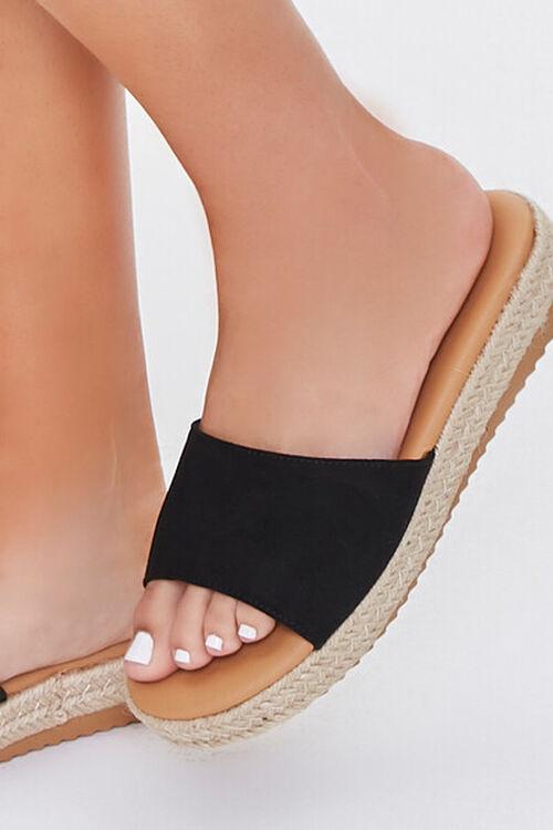 Faux Suede Espadrille Sandals, image 5
