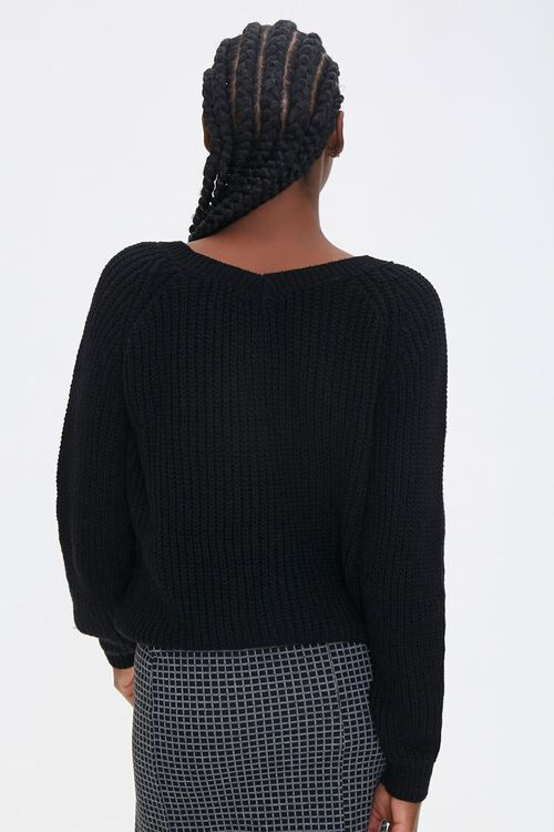 Ruched Drawstring Sweater, image 3