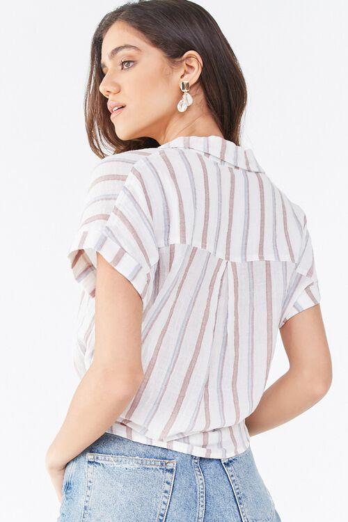 Striped Drawstring Shirt, image 3
