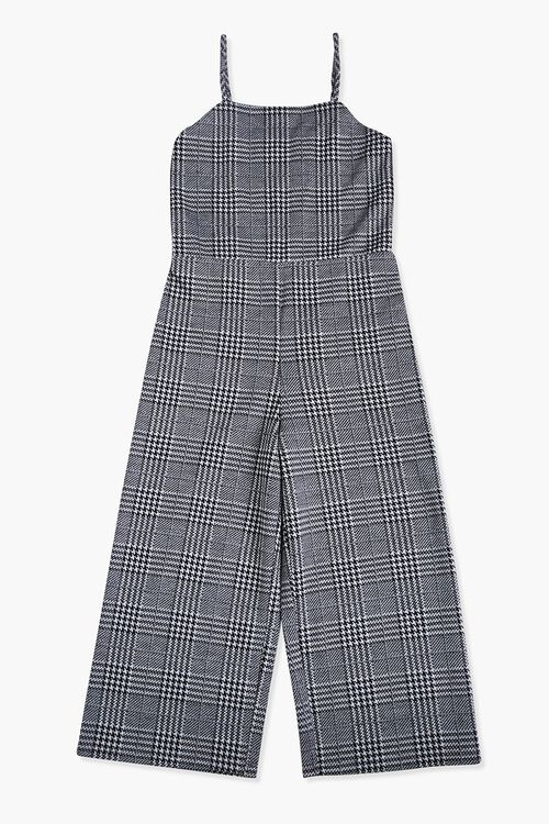 Girls Glen Plaid Cami Jumpsuit (Kids), image 1