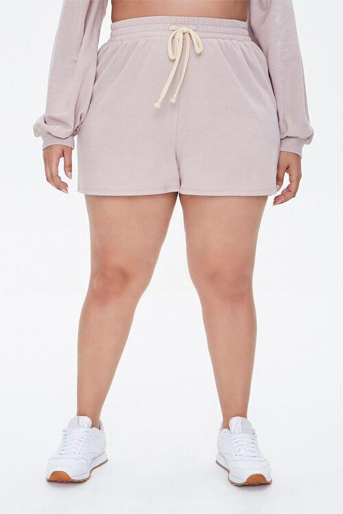 Plus Size Pullover & Shorts Set, image 4