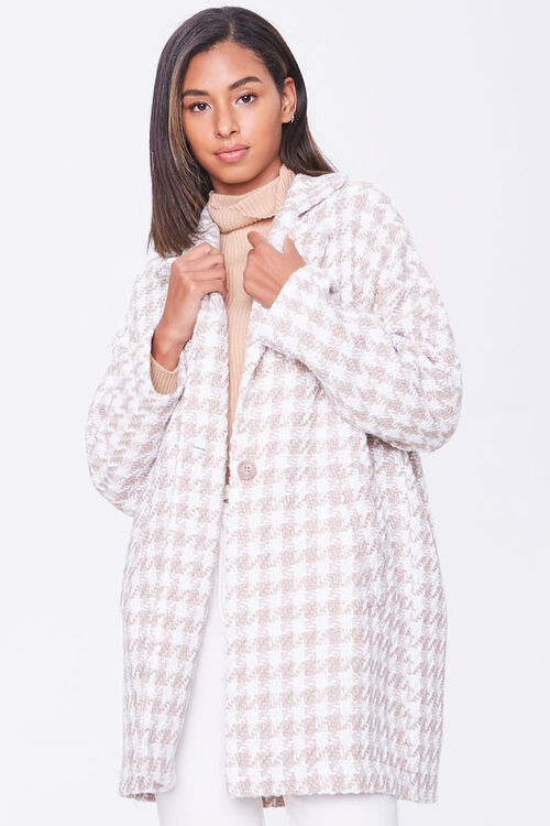 Tweed Houndstooth Jacket, image 1