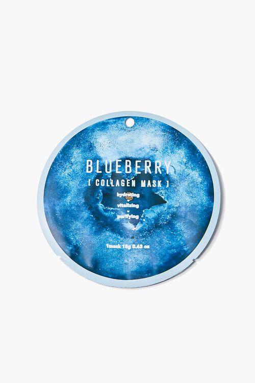 BLUE Blueberry Collagen Face Mask, image 1