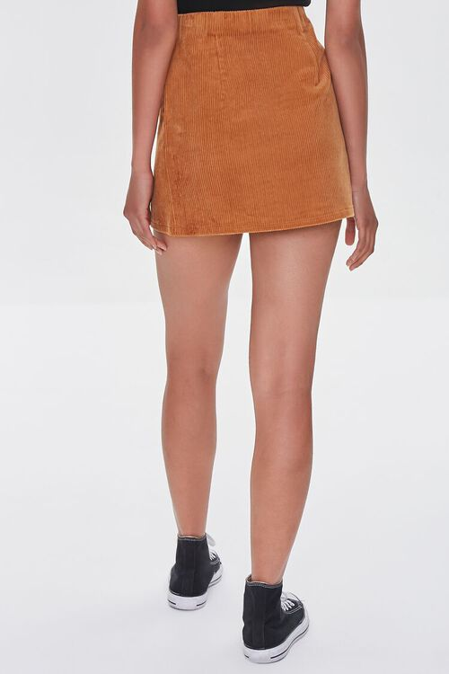 CAMEL Corduroy Mini Skirt, image 4