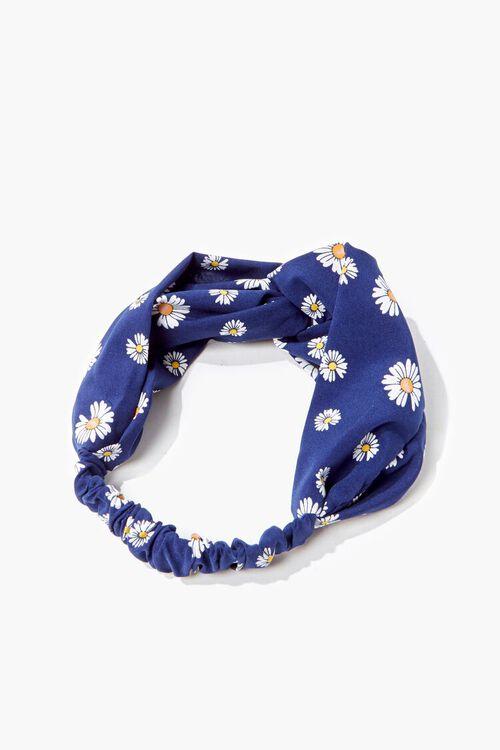 Daisy Print Headwrap, image 1