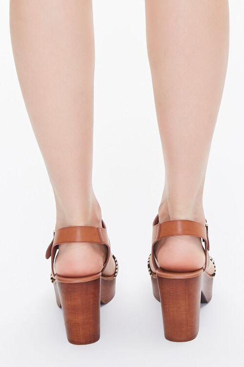 Faux Wooden Block Heels, image 3