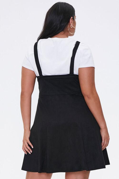 Plus Size Pinafore Mini Dress, image 3