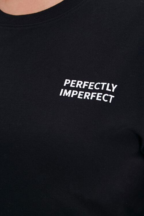 Plus Size Perfectly Imperfect Graphic Tee, image 5