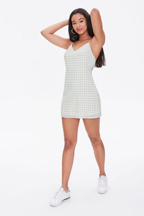 Plaid Mini Cami Dress, image 4