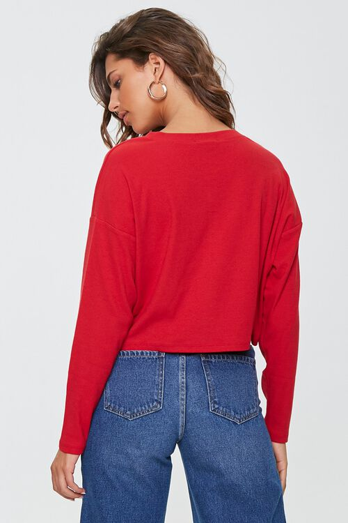 Cropped Henley Top, image 3
