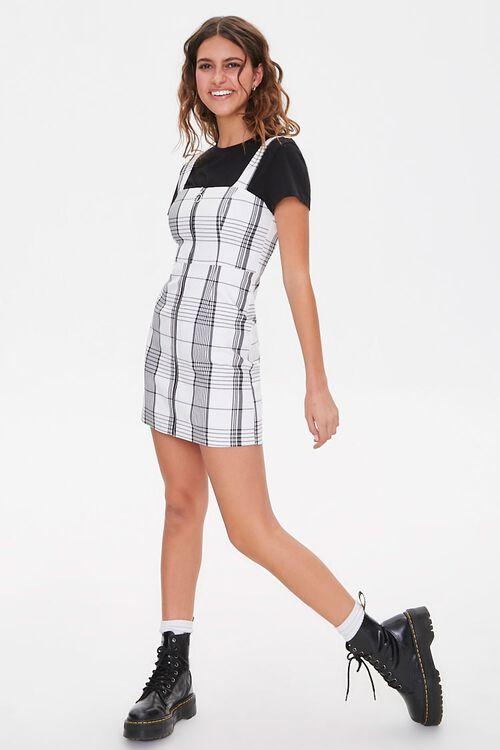 Plaid Pinafore Dress, image 4