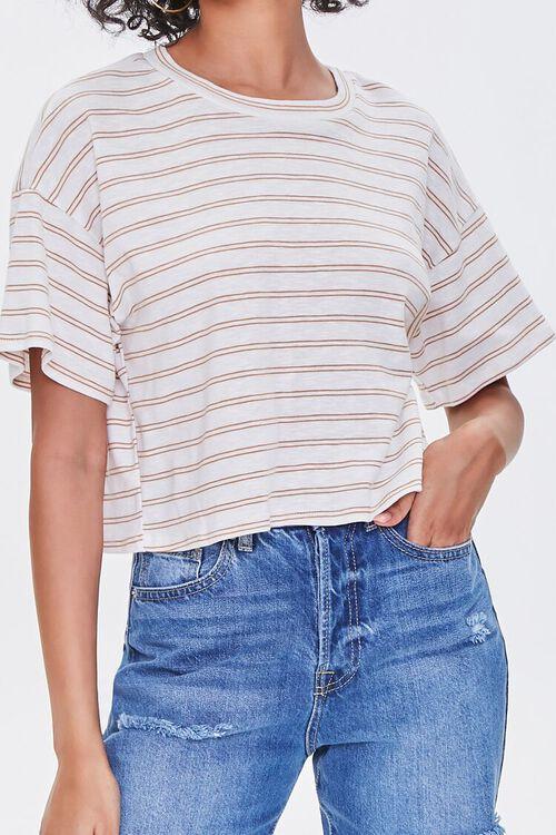 Striped Boxy Tee, image 1
