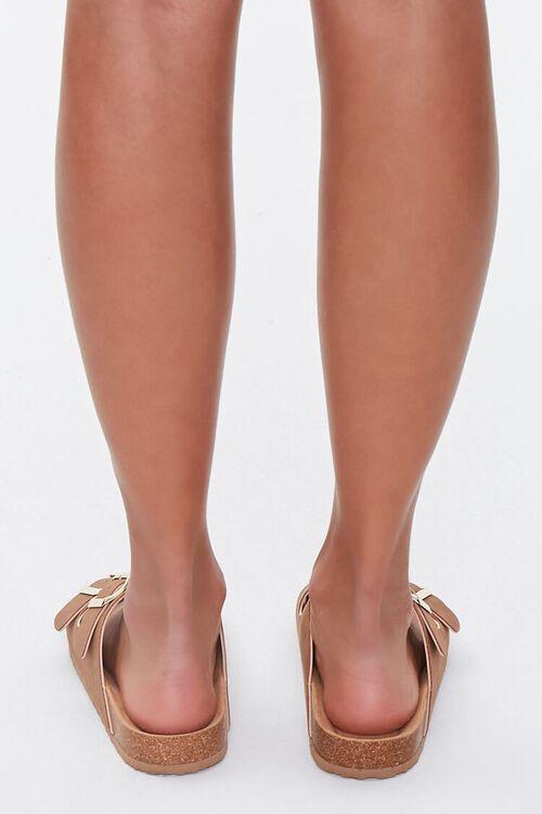 Buckled Flatform Sandals (Wide), image 3