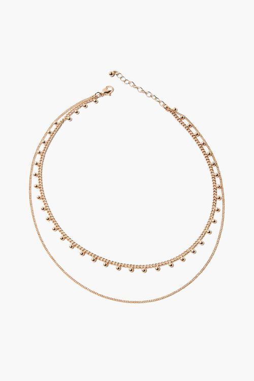 Beaded Layered Necklace, image 2