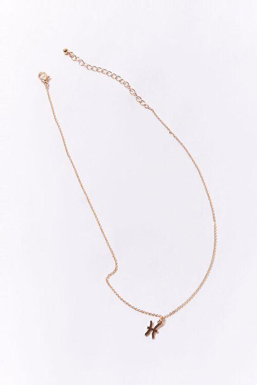 Pisces Charm Necklace, image 2