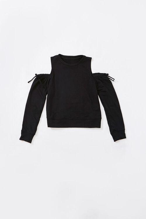Girls Open-Shoulder Pullover (Kids), image 1