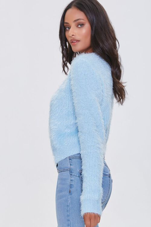 DUSTY BLUE Cami Cardigan Sweater-Top, image 2