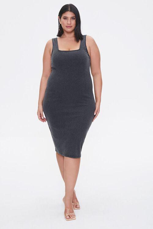 Plus Size Bodycon Tank Dress, image 4