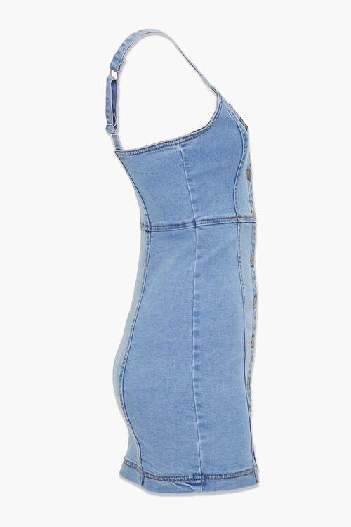 Denim Button-Down Dress, image 2
