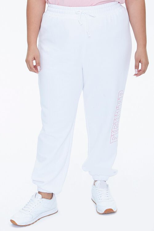 Plus Size Stand Up To Cancer Fighter Joggers, image 2
