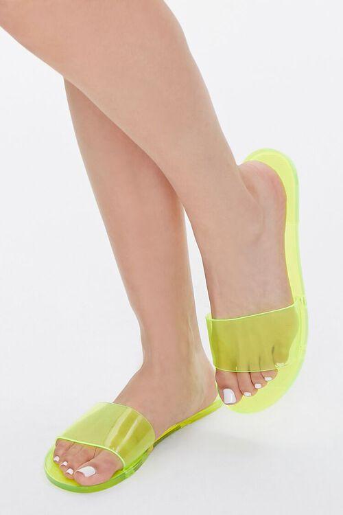 Semi-Transparent Jelly Sandals, image 5