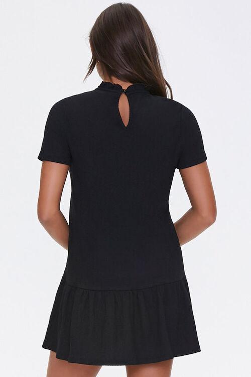 Ruffle-Trim Shift Dress, image 3