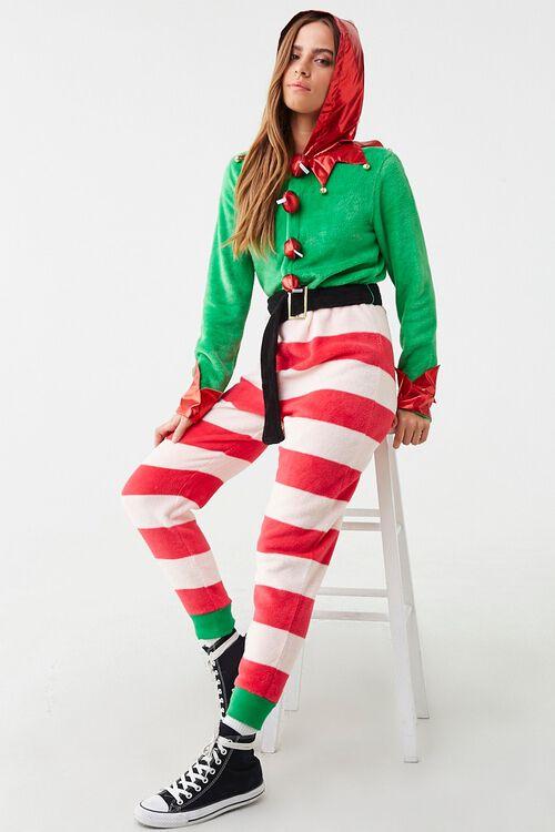 Holiday Hooded Hersheys Jumpsuit, image 1