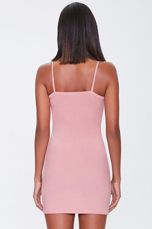 Surplice Mini Bodycon Dress, image 3