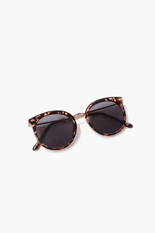 Tortoiseshell Round Sunglasses, image 6