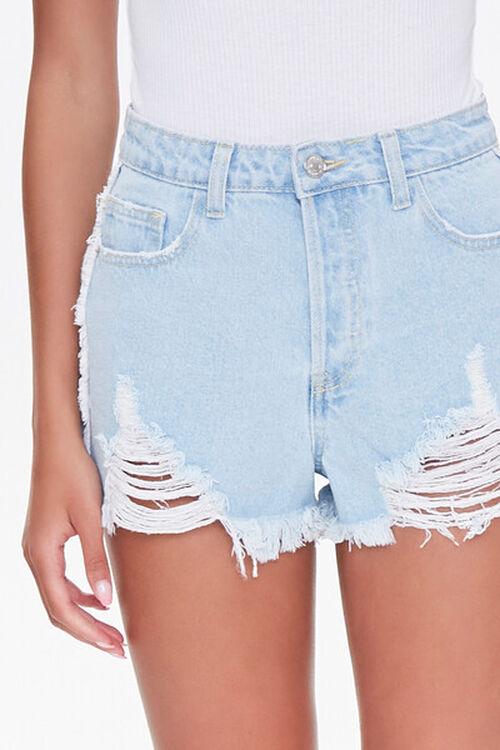 Frayed Denim Shorts, image 5