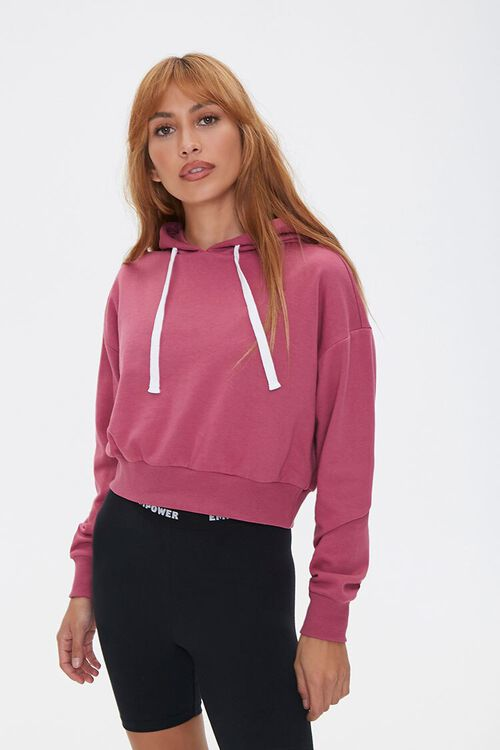 Boxy French Terry Hoodie, image 1