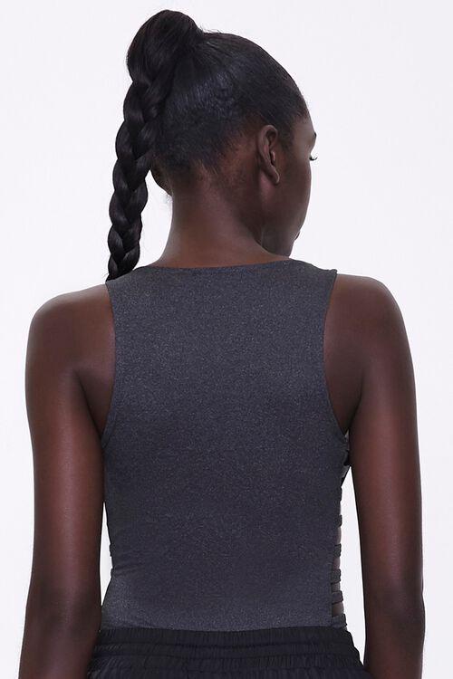 Active Caged Sleeveless Bodysuit, image 3