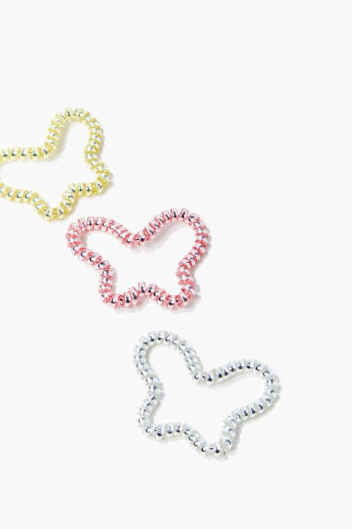 Butterfly Spiral Hair Tie Set, image 2