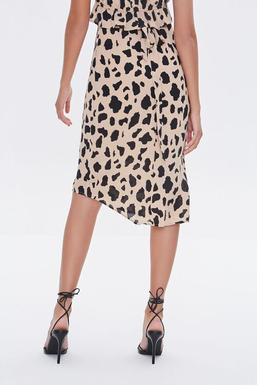 Cow Print Tulip-Hem Skirt, image 4