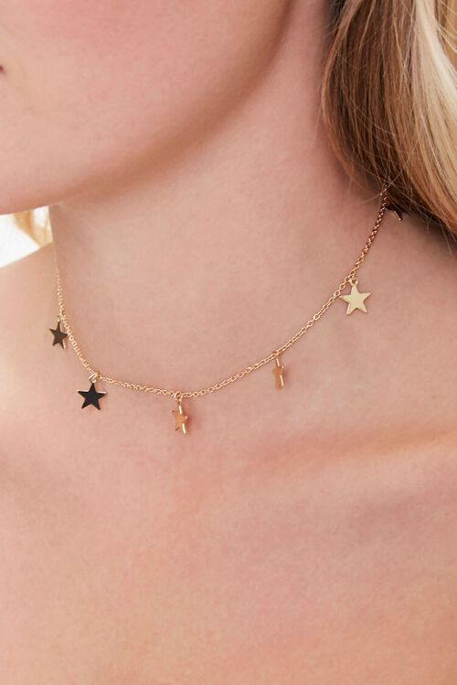 Star Charm Choker Necklace, image 1