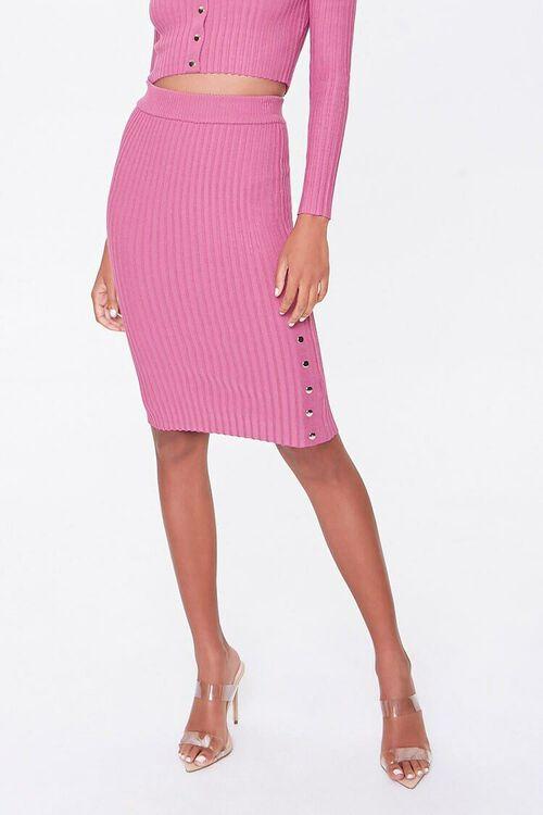 Ribbed Top & Pencil Skirt Set, image 5