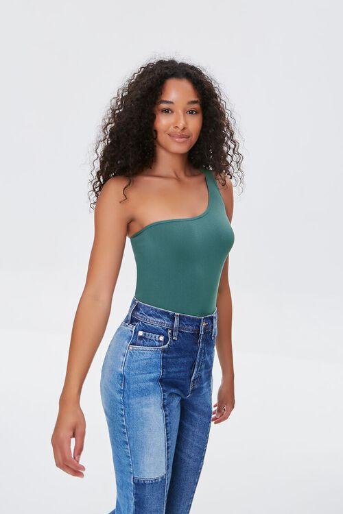 One-Shoulder Bodysuit, image 1