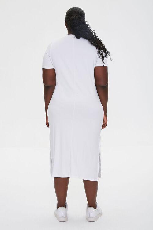 Plus Size Midi T-Shirt Dress, image 3