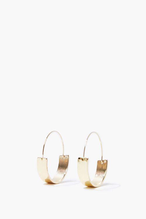 Upcycled Hoop Earrings, image 1