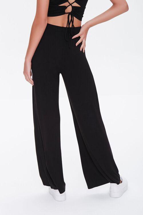 Knit High-Waisted Pants, image 4