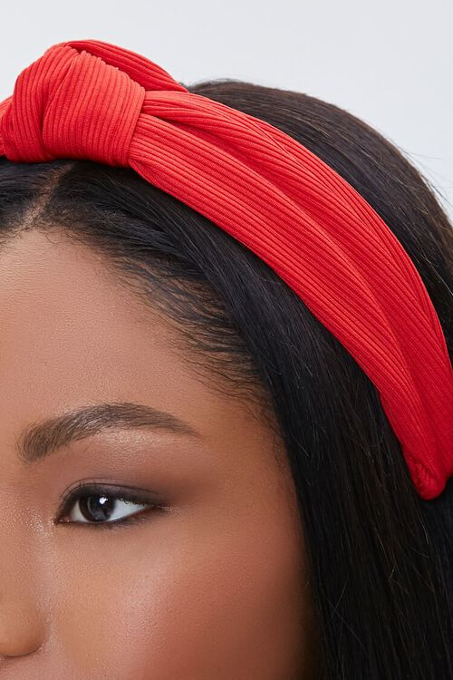 Ribbed Knotted Headband, image 3