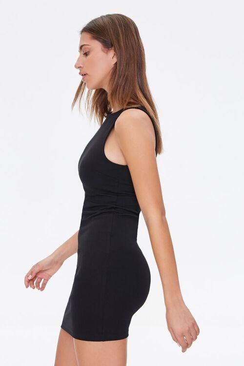 BLACK Bodycon Mini Dress, image 2